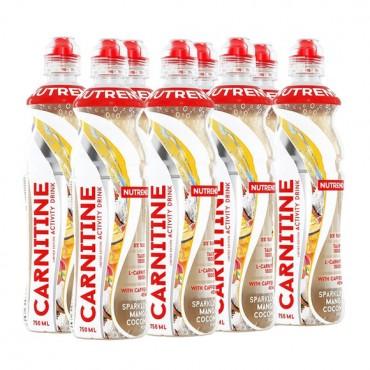 Nutrend Carnitine Activity Drink Red Orange 8 x 750 ml