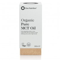 One Nutrition Organic Pure MCT Oil 300ml