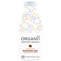 ORGANII Shower Gel Shea Butter Organic (Ecocert) 300ml x 6