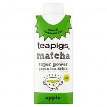 Teapigs matcha Super Power Green Tea Apple 330ml