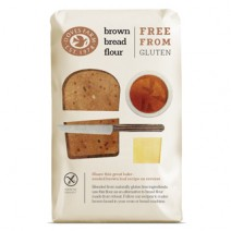 Doves Farm Organic Gluten Free Brown Bread Flour 1kg