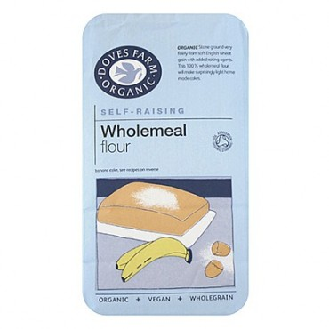 Doves Farm Organic Self Raising Wholemeal Flour 1kg