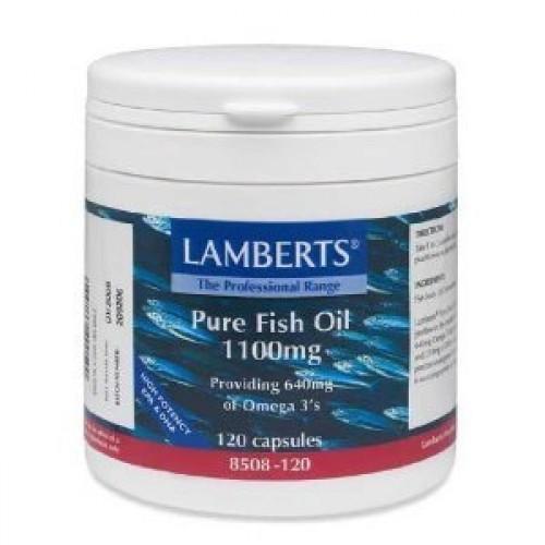 Lamberts pure fish oil 1100mg 120 capsules for Do fish oil pills expire