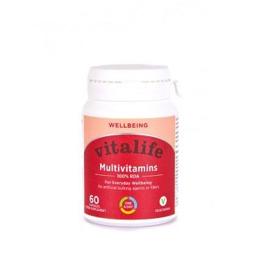 Vitalife 100% Multivitamin 60 Capsules