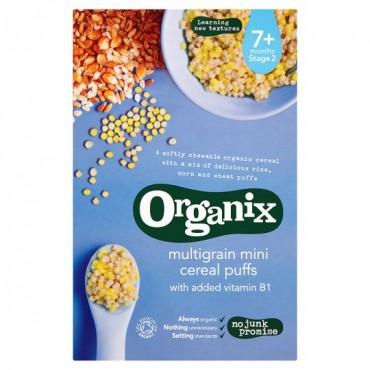 Organix Multigrain Mini Puffs 90g