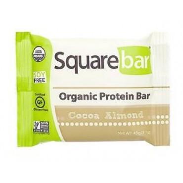 Squarebar Cocoa Almond Protein Bar 48g