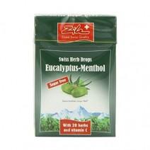 Zile Swiss Herbal Drops Eucalyptus Menthol 40g
