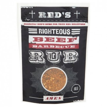 Red's Righteous Beef BBQ Rub 35g