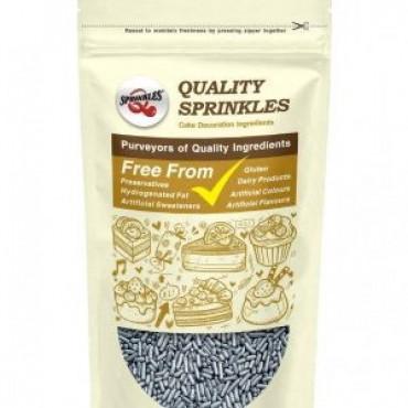 Quality Sprinkles Silver Sugar Strands 65g