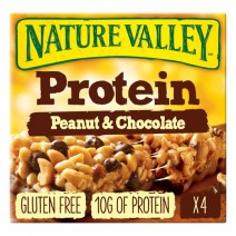 24 x 4 Pack Nature's Valley Protein Mixed Case (16 x Peanut & Chocolate, 8 x Salted Caramel)