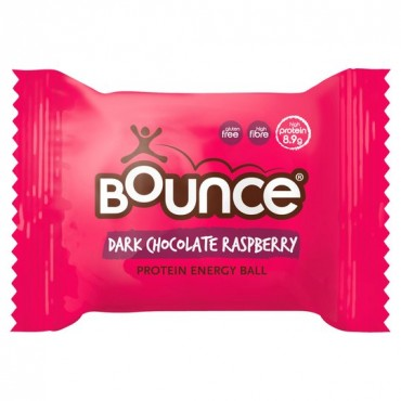 Bounce Balls Dark Chocolate Raspberry 20x40g