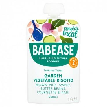Babease Garden Vegetable Risotto 6x130g