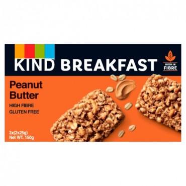 Kind Peanut Butter Breakfast Bars 150g x 12