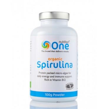 One Nutrition Organic Spirulina Powder 100g