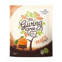 The Giving Tree Freeze Dried Peach Crisps 18g