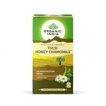 Organic India Tulsi Honey Camomile 5 x 25 Bags