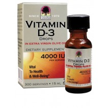 Nature's Answer Vitamin D3 Drops 4000iu 15ml