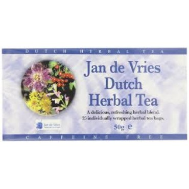 A Vogel Tea Jan de Vries 25 x 2g Bags