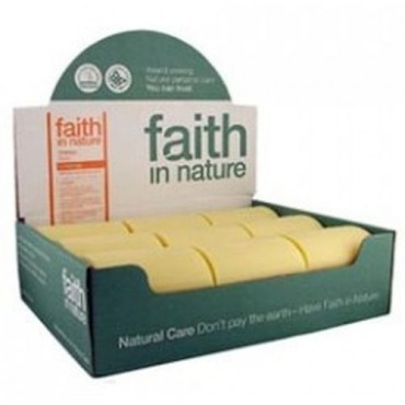 Faith in Nature Orange Soap x18