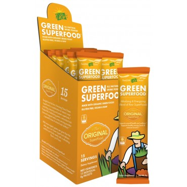 Amazing Grass Green Superfood Drink Powder 8g (Case of 15)