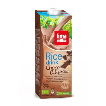Lima Organic Chocolate Rice Drink 200ml (Case of 3)