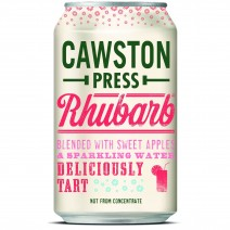 Cawston Press Sparkling Rhubarb Can 330ml